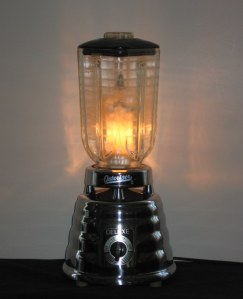 Our Lady of Perpetual Daiquiris blender lamp