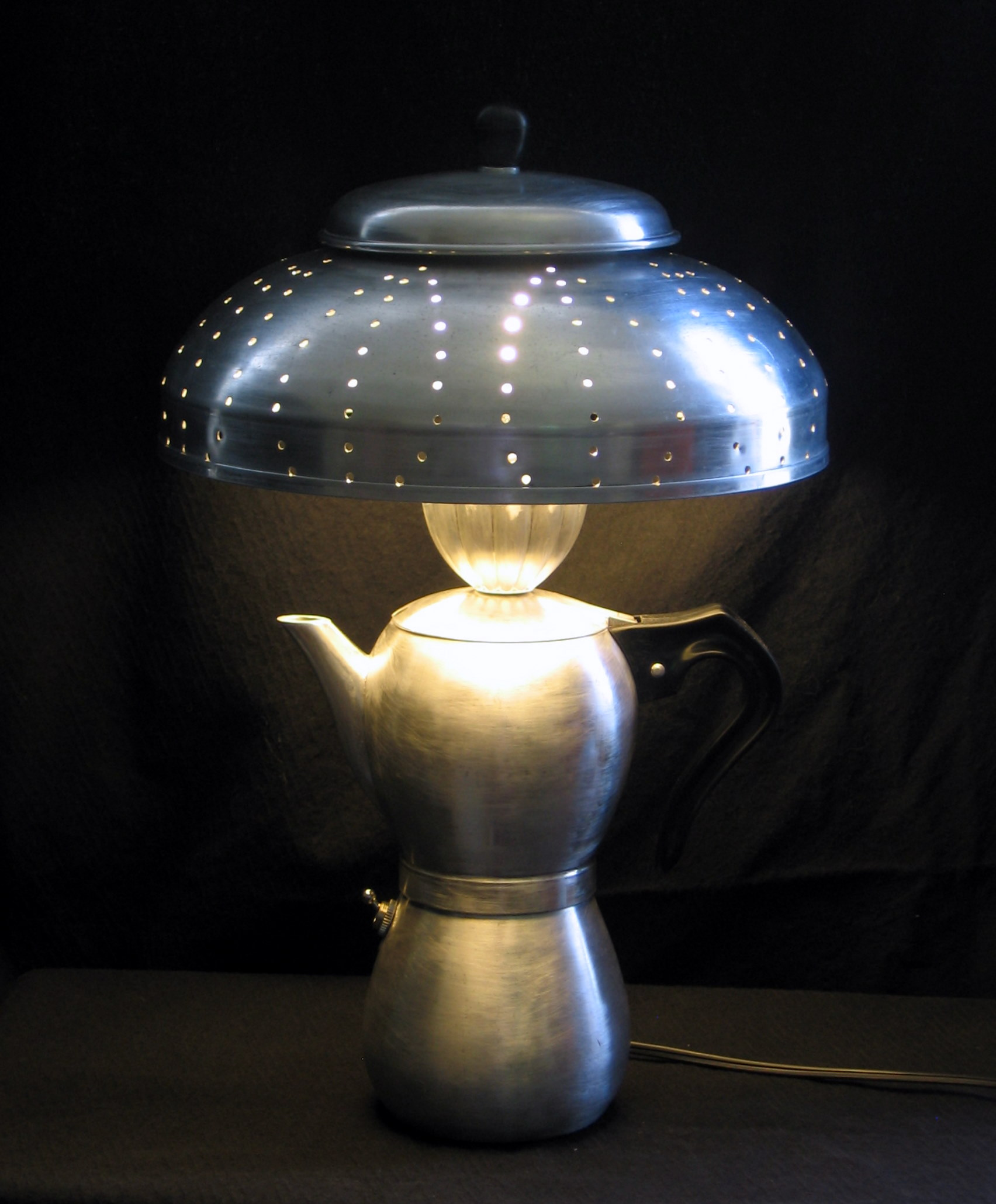 Coffee tea pots four f lighting for Funny lamps for sale