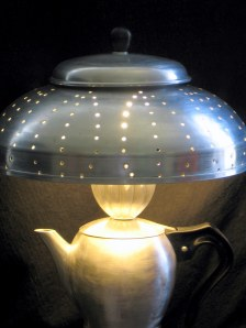 Espresso pot lamp