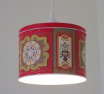 Gingersnaps tin pendant light