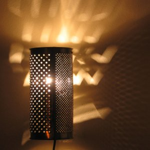Ambi the Hedgehog plug-in sconce (or table lamp)