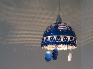 Bluelectric Medusa plug-in pendant light