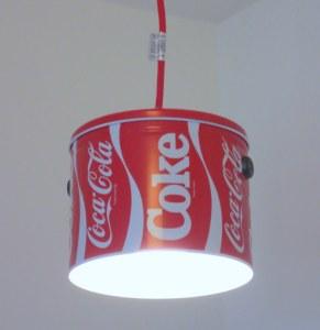 Small Coca-Cola pendant