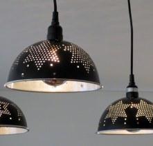 Alpha Centauri triple pendant chandelier