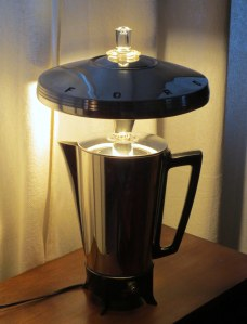 Ford Presto coffee pot lamp