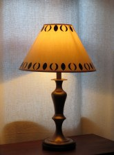 Anais brass table lamp